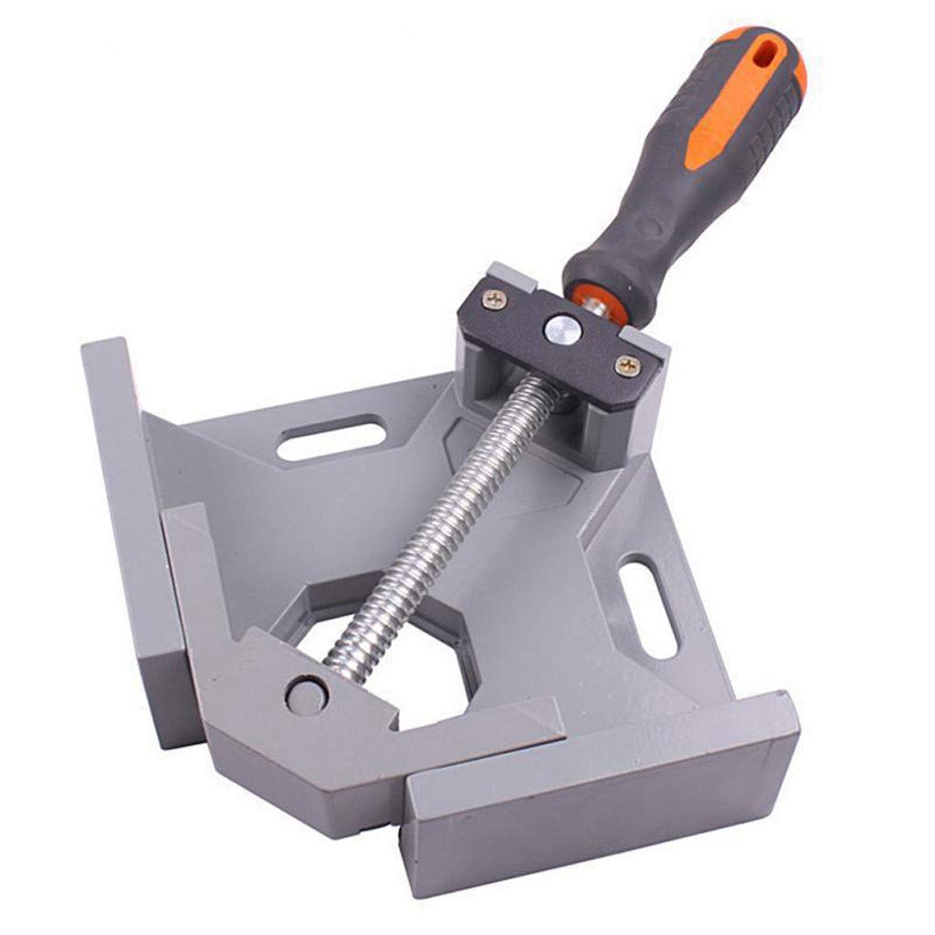 Rigel7 90° Right Angle Clip Clamp Tool Woodworking Photo Frame Vise Welding Clamp Holder Corner Clamp Woodworking Photo Frame Vise Welding Clamp Holder with Adjustable Swing Jaw by Rigel7