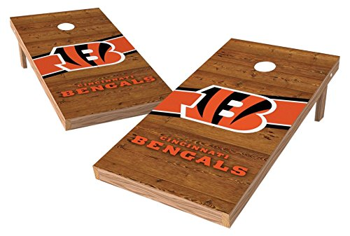 PROLINE NFL Cincinnati Bengals 2'x4' Cornhole Board Set - Logo Design by PROLINE
