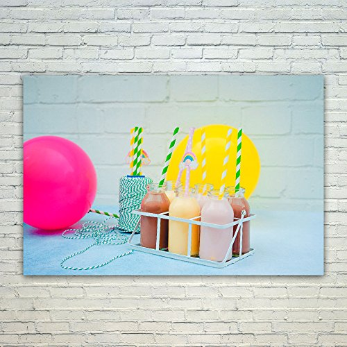 Westlake Art Poster Print Wall Art - Milkshake Yellow - Mode