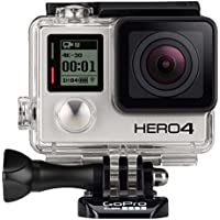GoPro HERO4 Silver Waterproof Action Camera (Silver) - Refurbished