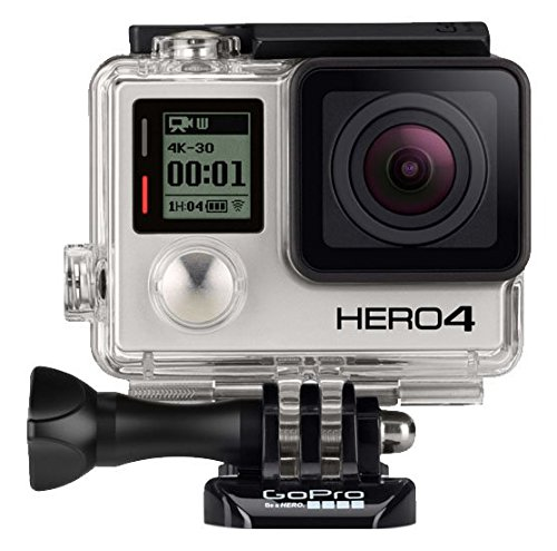 GoPro HERO4: BLACK - ADVENTURE - Videocámara deportiva, 12 Mp, Wi-Fi, Bluetooth, sumergible hasta 40 m