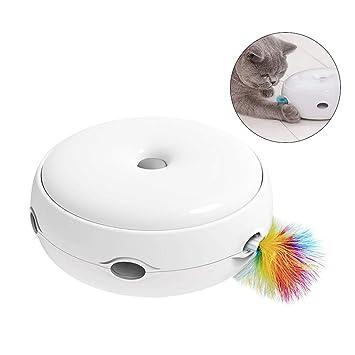 Augproveshak - Juguete eléctrico Inteligente para Gatos, Juguete Interactivo para Gatos: Amazon.es: Productos para mascotas
