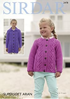 9b927d15e0e6 Stylecraft 9250 Knitting Pattern Girls Cardigans to knit in Malabar ...