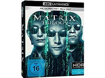 Matrix - Trilogie (4K Ultra HD) [Alemania] [Blu-ray]: Amazon.es: Reeves, Keanu, Fishburne, Laurence, Weaving, Hugo, Moss, Carrie-Anne, Wachowski, Andy, Wachowski, Larry, Reeves, Keanu, Fishburne, Laurence: Cine y Series TV