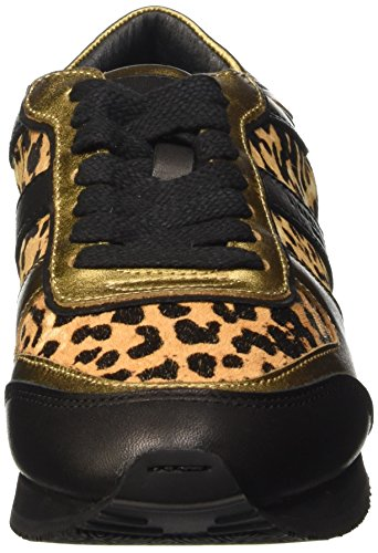 Berlin Schwarz Animal Black LS0094 Liebeskind Damen Sneakers SqaHdx1w