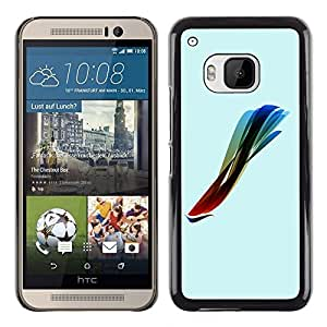 Impact Case Cover with Art Pattern Designs FOR HTC One M9 Colorful Koi Fish Betty shop