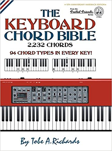 The Keyboard Chord Bible 2 232 Chords Fretted Friends Series