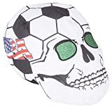 11'' USA SOCCER BALL SKULL HEADS, Case of 12