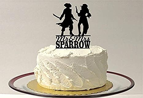 Personalised Pirate Cake Topper