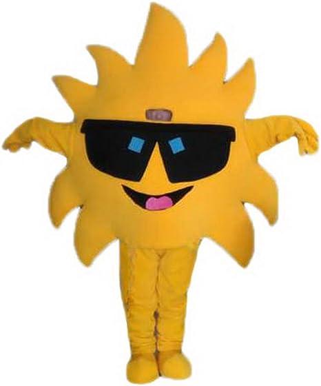Disfraz de sol de girasol Mascot Cartoon Character adulto Sz Real ...