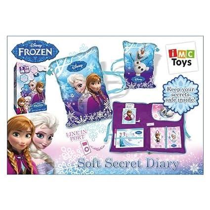 Agenda secreta Frozen de alta calidad, suave: Amazon.es: Bebé