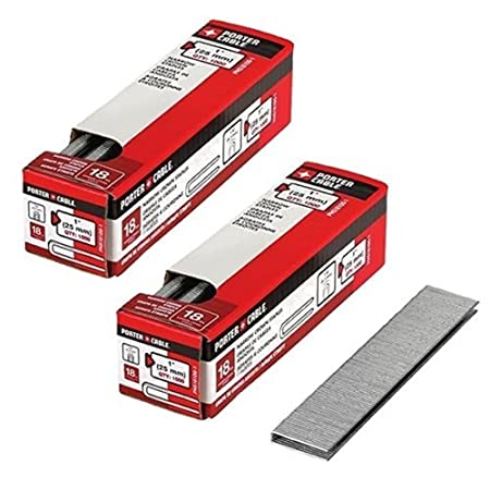 PORTER-CABLE PNS18100-1 1-Inch 18 Gauge Narrow Crown Staple (2 Pack) Porter Cable