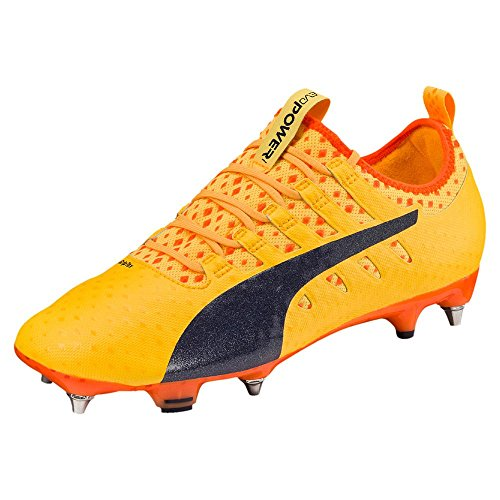 Puma Evopower Vigor 1 MX SG, ULTRA YELLOW-Peacoat-Orange Clown Fish, 11,5 ULTRA YELLOW-Peacoat-Orange Clown Fish