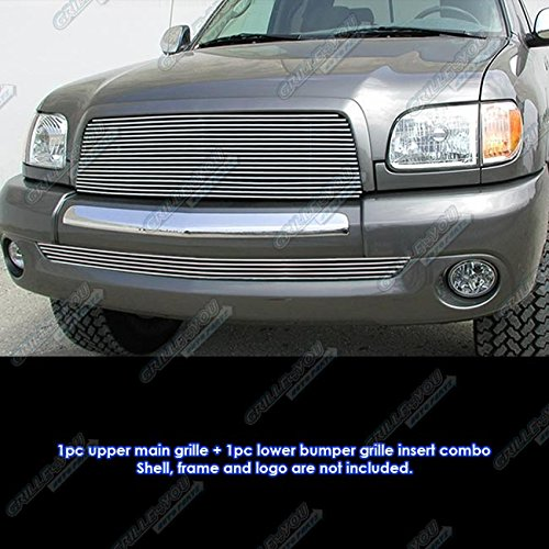 03-06 Toyota Tundra Billet Grille Grill Combo Insert # T87980A