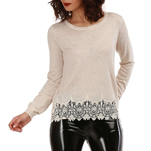 Rond Pull col Femme Modeuse La SwY4qIBvY