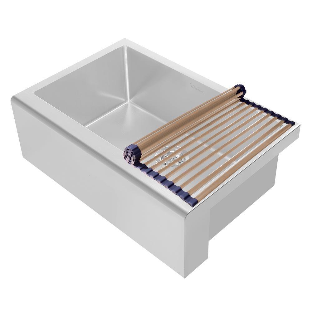 Whitehaus WHNPLRM-CO Noah Plus Collection Kitchen Roll Mat, Copper