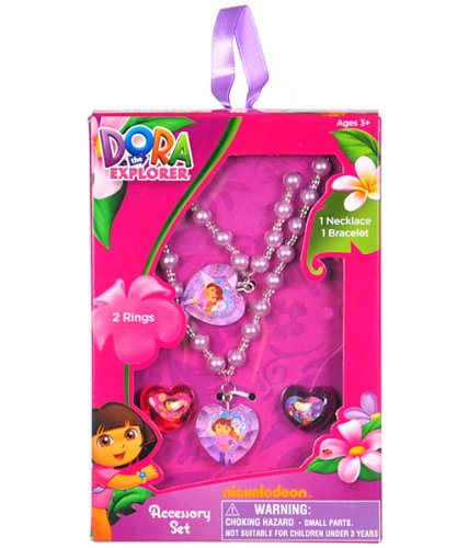 Dora the Explorer Jewelry Box Set Dora The Explorer Jewelry