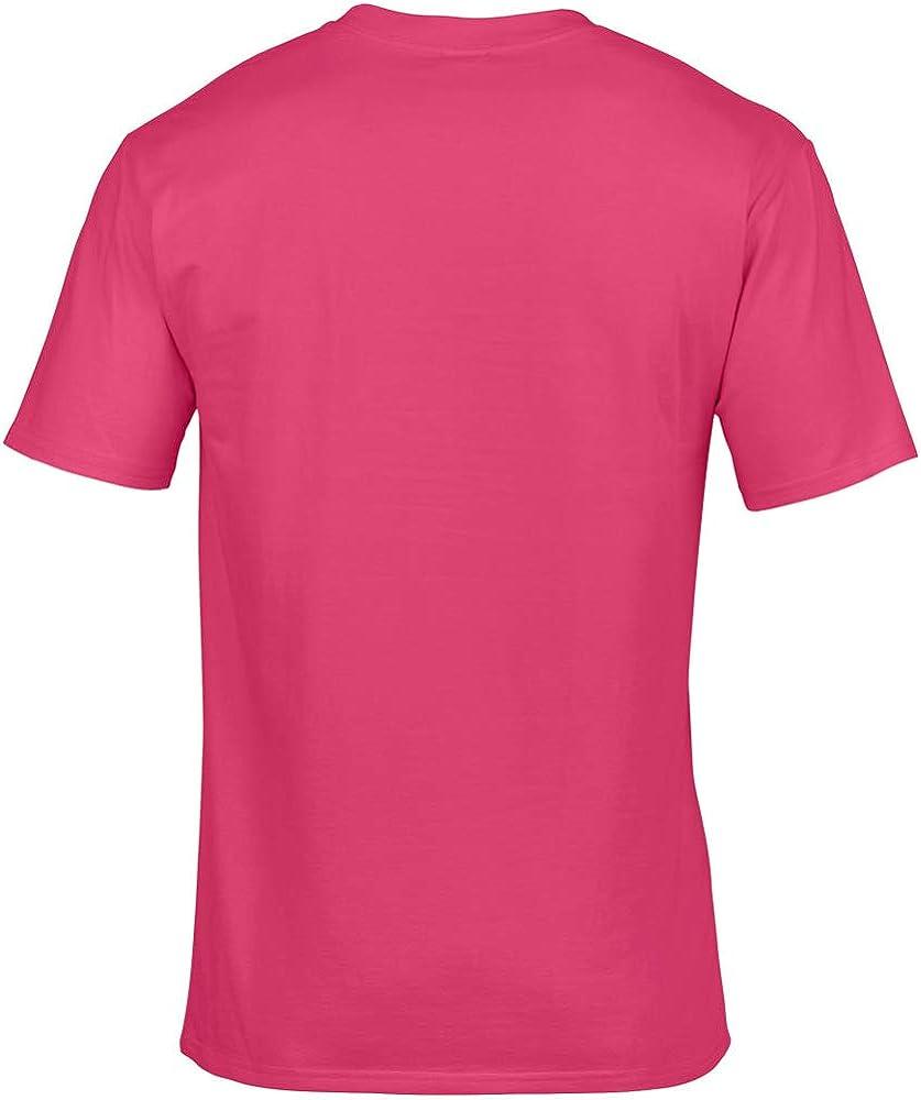 Gildan - Camiseta básica de manga corta 100% Algodón de gran ...