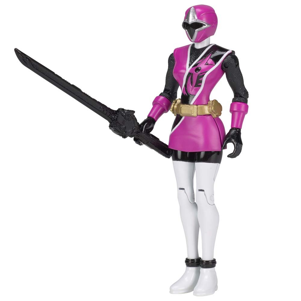 Amazon.com: Power Rangers 43704 Ninja Steel 12.5cm Pink ...