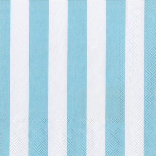 Ideal-Home-Range-20-Count-3-Ply-Paper-Cocktail-Napkins-Blue-Big-Stripes