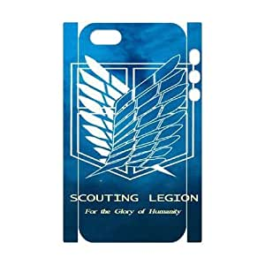 iphone5s Phone Case White Attack on Titan Wings Of Liberty Flag ESTY7822654