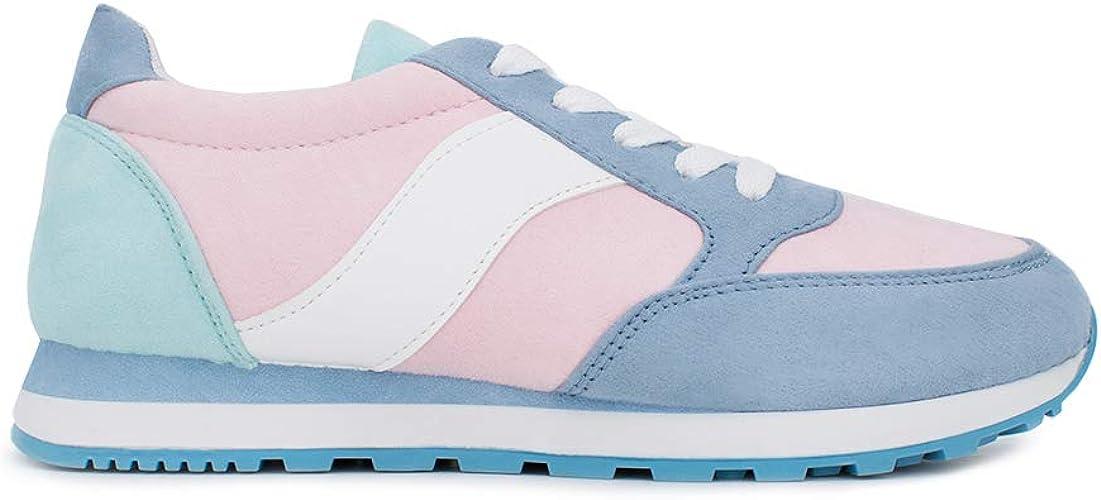 Zapatillas Deportivas Mujer Pastel: Amazon.es: Zapatos y complementos