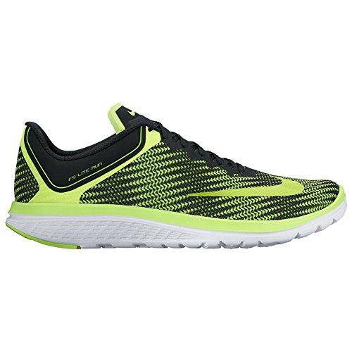 Nike Mens Fs Lite Körda Fyra Löparsko Volt / Volt / Svart / Vit