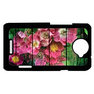 Flowers rustic HTC One X PLASTIC cell phone Case / Cover Great Gift Idea