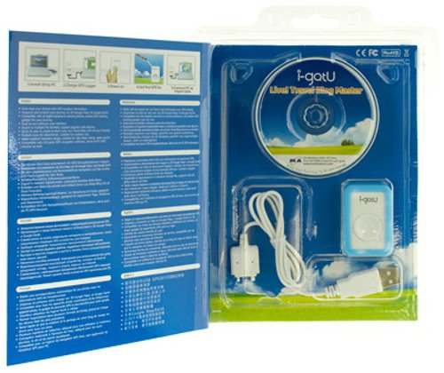 i-gotU GT-120 Travel Blog Master (USB GPS, Data Logger, SiRF III Chipset) (Bumper Case, Data Cable and Software Included)
