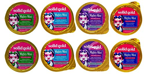 Solid Gold Small Breed 4 Flavor Variety
