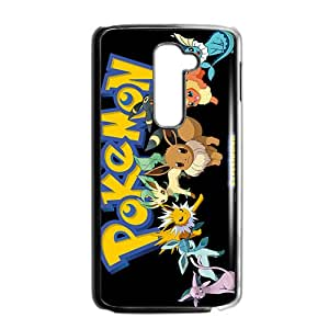 Custom Japón dibujos animados Pokemon Pikachu Cool Póster Case for LG G2