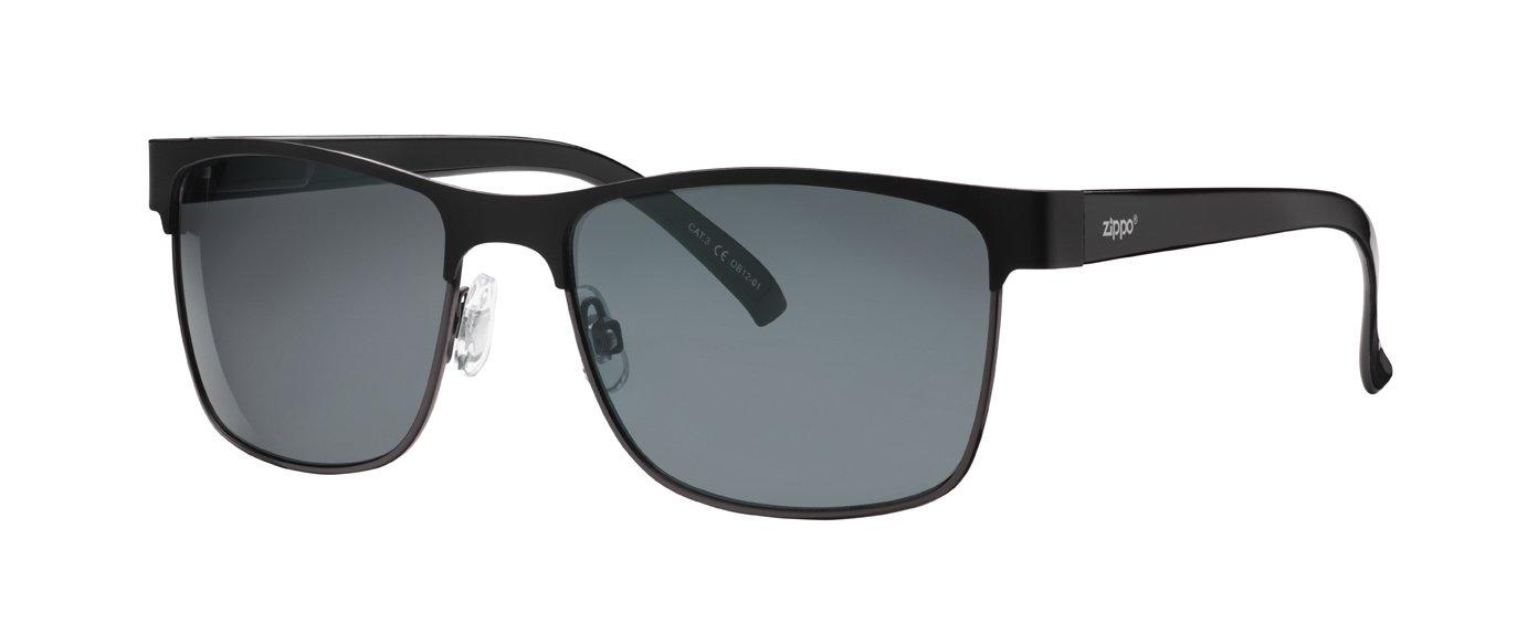 Zippo Smoke Flash Mirror Lens Gafas de Sol, Unisex, Negro ...