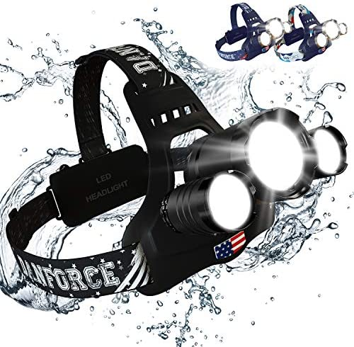 Headlamp Brightest Rechargeable Batteries Headlamps product image