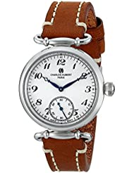 Charles-Hubert, Paris Womens 6957-W Premium Collection Analog Display Japanese Quartz Brown Watch
