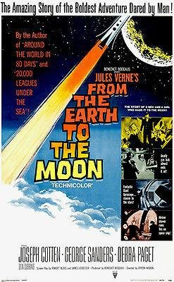 from The Earth to The Moon - 1958 - Movie Poster
