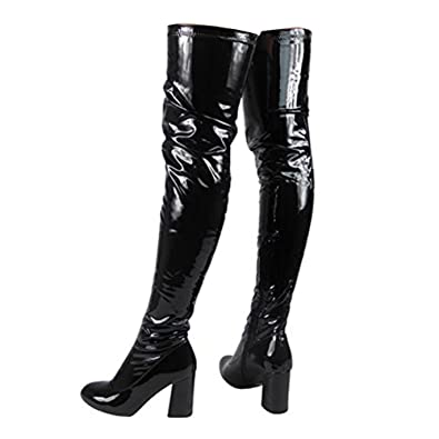 Fetish thigh boots size3
