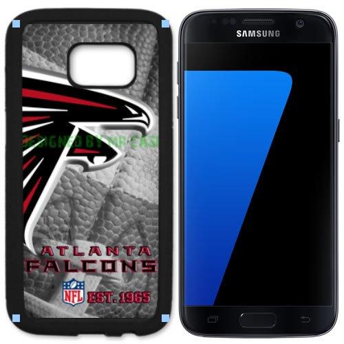 Atlanta Falcons Black Football Case (Falcons Atlanta Football New Black Samsung Galaxy S7 Case By Mr Case)