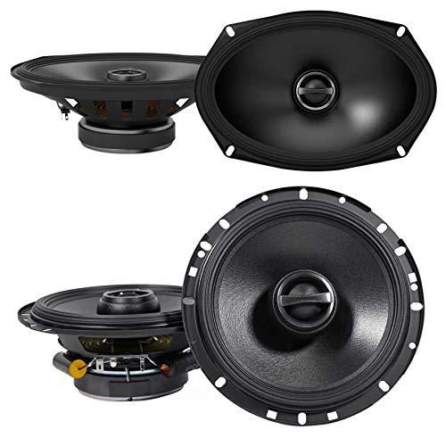 (2) Alpine S-S69 6x9 260w 2-Way Car Speakers+(2) S-S65 6.5