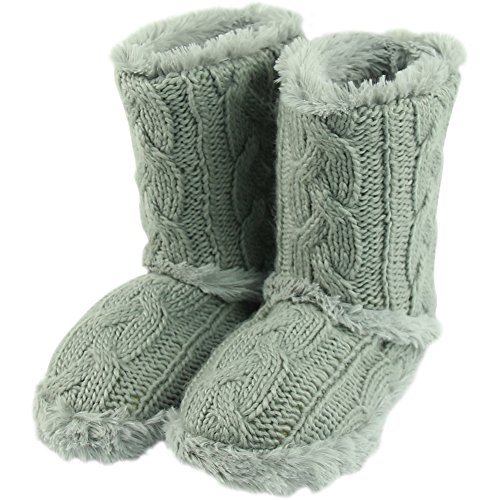 Boots Indoor Winter Forfoot Soft Slippers Grey1 Light Warm House Fashion Fleece Women's tqgXwng8