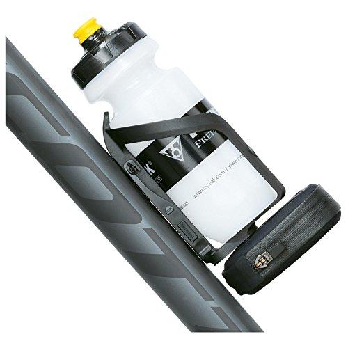 Topeak Ninja Pouch Plus Road Flaschenhalter Tasche Ersatzschlauch Schlauch Notfall Renn Rad, 15000600