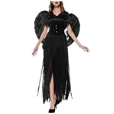 Disfraces de Halloween-Shenyi Disfraz de dama de Halloween Ángel ...