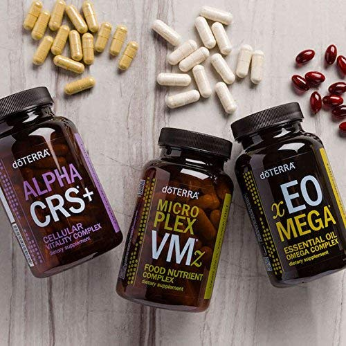 doTERRA Lifelong Vitality Pack— Alpha CRS+, xEO Mega and Microplex VMz by doTERRA (Image #3)