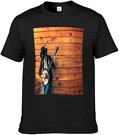 Camiseta de Manga Corta Domo para Hombre Instrumento Musical ...