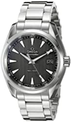 Omega Seamaster Aqua Terra Grey Dial Stainless Steel Mens Watch 231.10.39.60.06.001