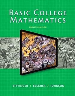 Bol. Com   exam prep for basic mathematics by bittinger, 10th ed.