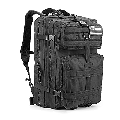 Military Tactical Backpack Large 50L Army Backpack 3 Day Assault Pack Molle Bug Out Bag for Outdoor Hiking Camping Trekking Hunting Multiple Color