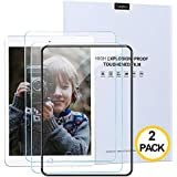 Canghua [2 Pack] Tempered Glass Screen Protector Secondary Reinforcement Bubble Free Film for iPad 7th 2019 10.2 inch [A2197 A2200 A2198] Apple Pencil Compatible, Intaller Frame, Anti-Blue-Ray