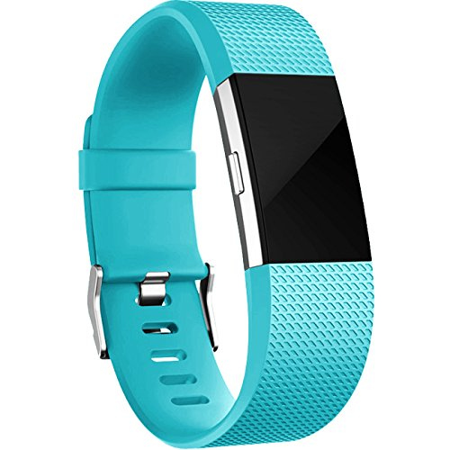 Maledan Replacement Bands for Fitbit Charge 2, 8 Pack
