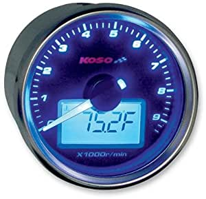 koso gp style universal tachometer w water. Black Bedroom Furniture Sets. Home Design Ideas