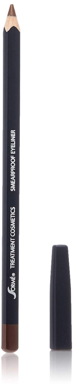 Sorme' Treatment Cosmetics Smear-Proof Eyeliner, Brown
